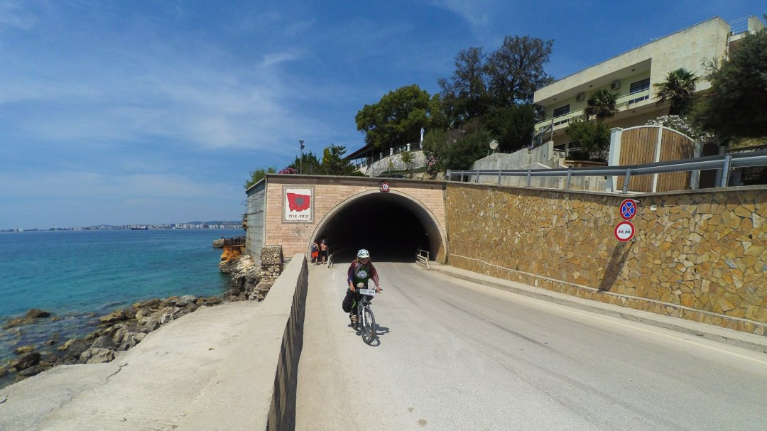 The tunel near by Vlore