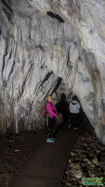 A tour around the cave
