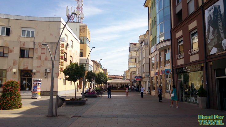 The center of Cacak