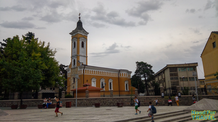 Saint Trinity Church in Kraljevo
