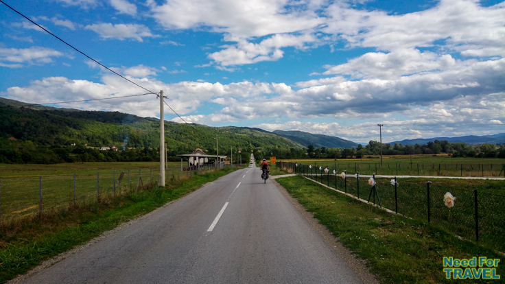 The road from Kraljevo to Trstenik
