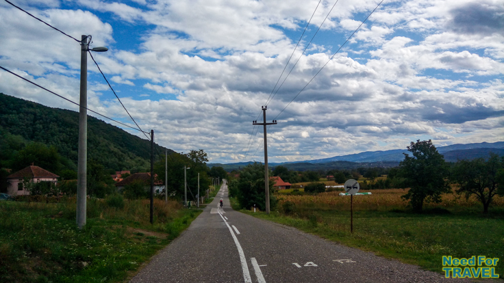 The way to Trstenik, Serbia