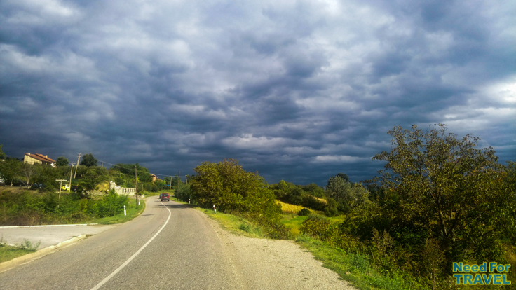 The way from Trstenik to Krusevac