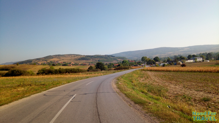 A road in the South of Serbia