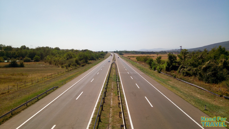 Highway from Belgrad to Nis
