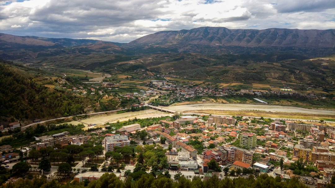 View of Berat