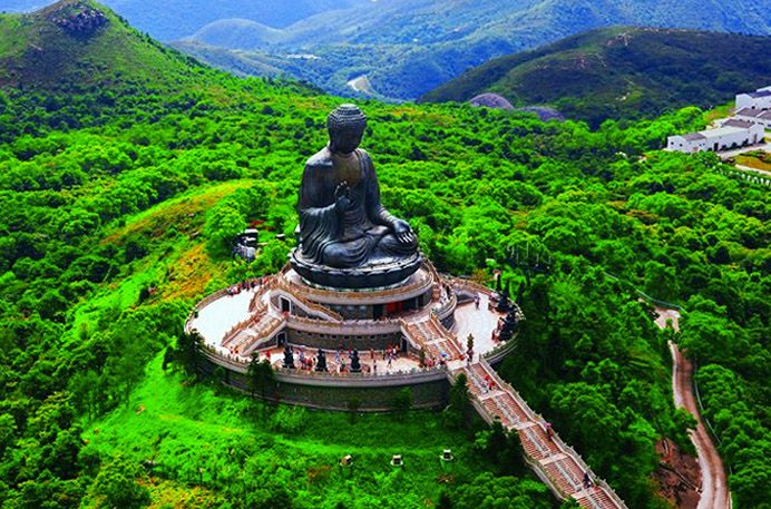 Big Buddha in Lantau