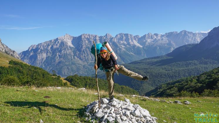 В походе по Черногории и Албании. Переходим границу.
