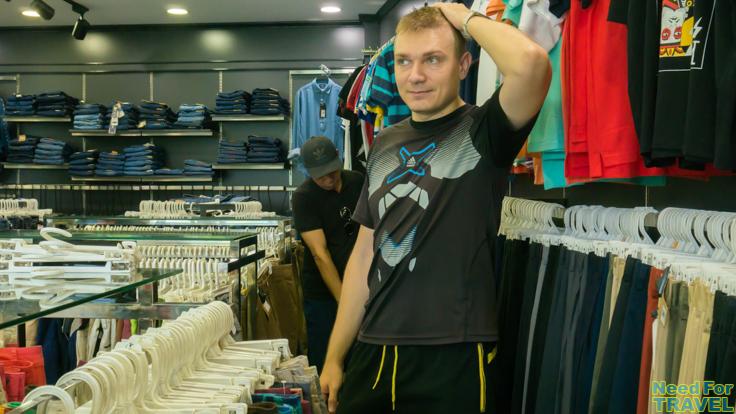 Не могу найти свой размер во Вьетнамском магазине