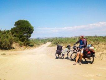 Албания: Берат (ЮНЕСКО) - Дуррес   Велопоход по Балканам, Часть 3