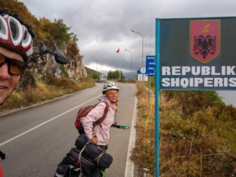 Албания: Поградец - Эльбасан | Велопоход по Балканам, Часть 12