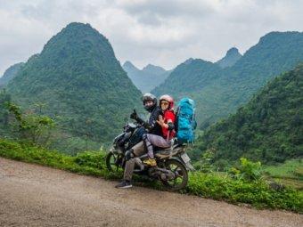 Водопад Дэтянь или Банзёк | МОТО-трип к границе Вьетнама и Китая