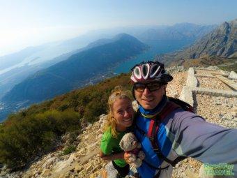 Черногория: Цетине, Которский Залив | Велопоход по Балканам, Часть 6
