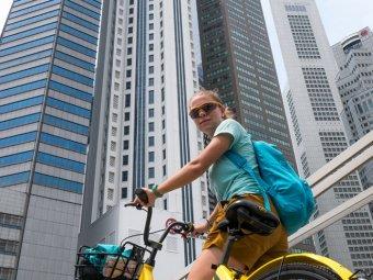 Как взять велосипед ofo напрокат в Сингапуре БЕСПЛАТНО?